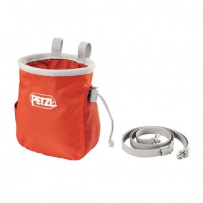 Petzl Saka Chalk Orange Bag | S39AO | Bag | 10kya.com Petzl Store India