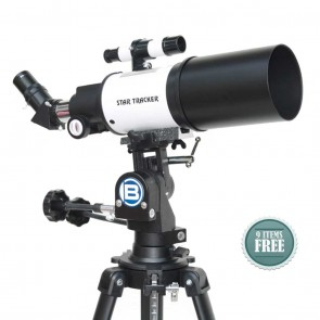 Star Tracker Refractor Telescopes | Sky-Land 80/400 NG  | Telescope [ 16x to 120x ] [ HSN 90058010