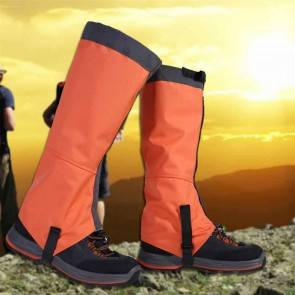 10Dare Gaiters for Snow, Tropical Forests, Outdoors | Water/Snow/Bite Resistant | Orange | Outdoor Legs & Boots Protections [HSN 6501