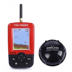 Sonar Fish Finder Wireless with Colour Remote | 10kya.com Fishing Goods Store Online India