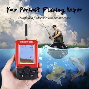 Advance Sonar Wireless Fish Finder with Colour Handheld Remote Device | Floating Fish Finder upto 45M Depth, 63M Dia & 328 Feet (100M) Distance  | Fishing Gear & Radar/Sonar [HSN 9507