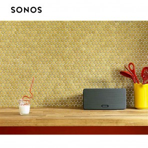 SONOS - PLAY:3 | Wireless Speaker for Streaming Music - Black | Portable Wireless WiFi Speakers | Sonos Home Audio [HSN 85182900