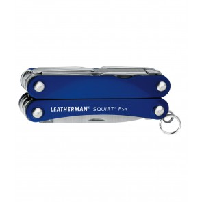 Buy Online India Leatherman Tools | Leatherman Squirt PS4 Blue-037447155284 Multitool | 10kya.com Leatherman Online Store