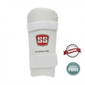 Buy SS Millenium Pro Men's Elbow Guard - White | 10kya.com SS Cricket Online Store