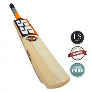 SS Orange English Willow Cricket Bat | FS (Full Size) [ HSN 95
