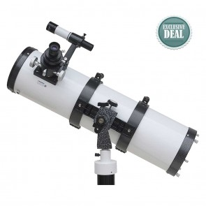Star Tracker Reflector Telescopes | 150/750 AZ with Pier Stand | Astronomical Telescope [ 36x to 450x ] [ HSN 90058010