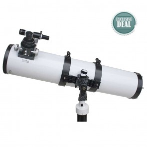 Star Tracker Reflector Telescopes | 150/900 AZ with Pier Stand | Astronomical Telescope [ 30x to 450x ] [ HSN 90058010