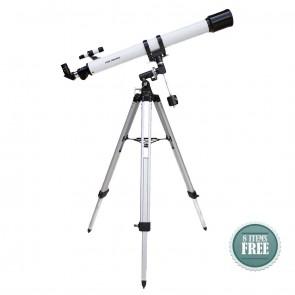 Buy Startracker Sky Land 70/900 EQ Refractor Telescope | 10kya.com Star Gazing Store Online