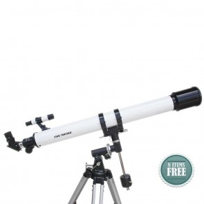 Star Tracker Refractor Telescopes | 70/900 EQ1  | Telescope [ 53x to 270x ] [ HSN 90058010
