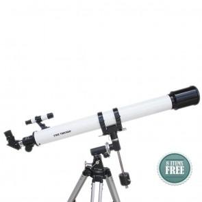 Star Tracker Refractor Telescopes | 70/900 EQ1  | Telescope [ 53x to 270x ] [ HSN 90058010