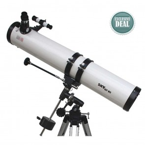 Star Tracker Reflector Telescopes | 127/900 EQ | Astronomical Telescope [ 36x to 450x ] [ HSN 90058010