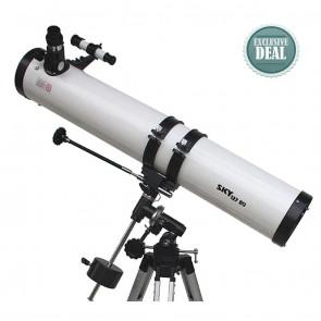 Star Tracker Reflector Telescopes | 127/900 EQ | Astronomical Telescope [ 36x to 450x ] [ HSN 90058010