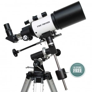 Star Tracker Refractor Telescopes | Star-Gate 80/400 EQ  | Telescope [ 16x to 120x ] [ HSN 90058010