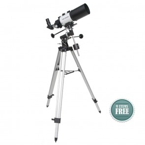 Buy Startracker Star-Gate 80/400 EQ Refractor Telescope | 10kya.com Star Gazing Store Online