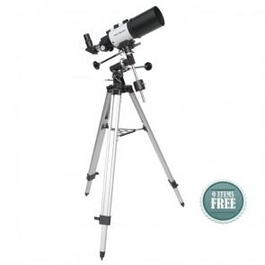 Buy Startracker Star-Gate 80/400 EQ Refractor Telescope | 10kya.com Star Gazing Store Online