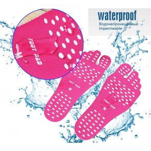 WAJUMO Stick-On Non-Slip Slippers | Swim Wearing Slippers | 10kya.com Swimming store Online