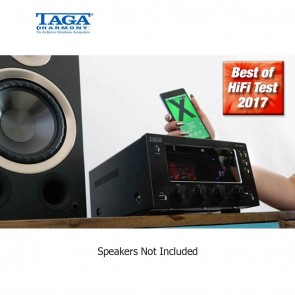 TAGA Harmony HTR-1000CD Hybrid Stereo CD-Receiver Bluetooth® DAB+ FM | High End Audio Receiver  [HSN 85182900