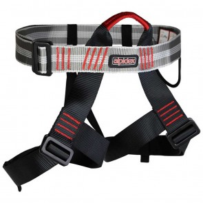 Alpidex Universal Climbing Harness TAIPAN (not padded) | Red Pepper Harness | Climbing & Mountaineering [ HSN 95