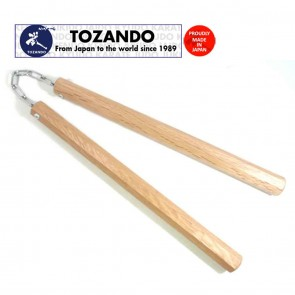 Tozando Akagashi Nunchaku with Metal Chain | 10kya.com Martial Arts India