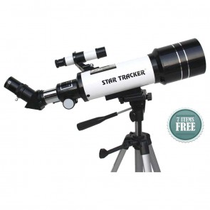 Star Tracker Refractor Telescopes | TravelScope 70/400 Astro -Terrestrial | Telescope [ 16x to 300x ] [ HSN 90058010