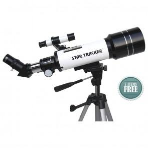 Star Tracker Refractor Telescopes | TravelScope 70/400 Astro -Terrestrial | Telescope [ 16x to 300x ] [ HSN 90058010