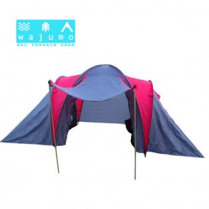 Advance 8 Person Tent on Rent | Wajumo-ATG 2 Bedroom + Dining Room Glamping Tent | Camping Tent on Rent India [HSN 996312