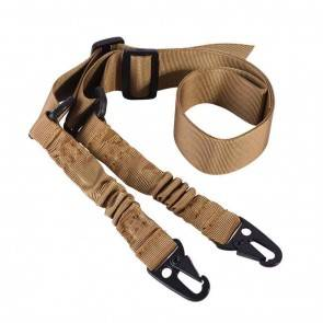 2 Point Gun Sling | Khaki | 10kya.com Airgun India
