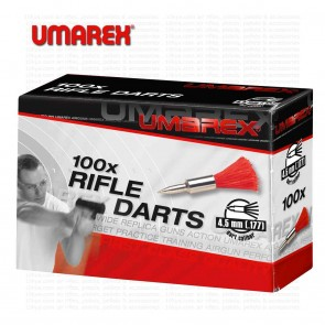 Umarex Rifle Darts Assorted Colours | 0.177 4.5mm | 100 | 10kya Airgun India Store