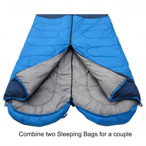 Advanced Camping Sleeping Bag on Rent | WAJUMO 1.8 Kg 0-15º Sleeping Bags | Camping & Tent Rentals