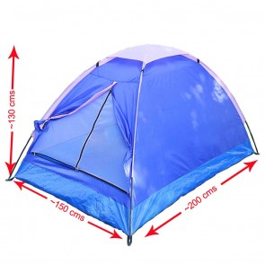 Advance 2 Person Tent on Rent | Wajumo-ATG 2 Person Dome Tent | Camping Tent on Rent India [HSN 996312
