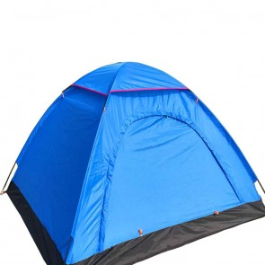 WAJUMO-ATG Auto Pop-Up 4 Tent Blue | 4 Person Waterproof Tent