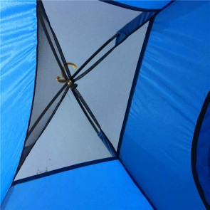 WAJUMO-ATG Auto Pop-Up 4 Tent Blue | 4 Person Waterproof Tent | Camping Automatic Tents [ HSN 63062200