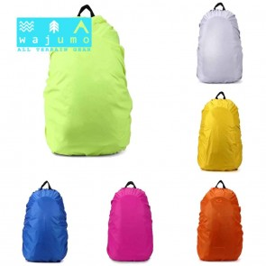 WAJUMO Rain Cover 35-50L Backpacks | Yellow Poncho | Rucksack Accessories