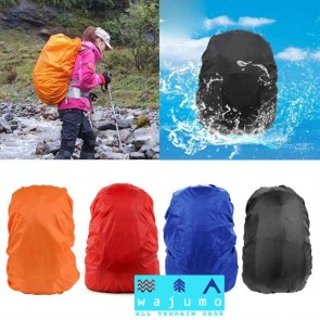 WAJUMO Rain Cover 35-50L Backpacks | Orange Poncho | Rucksack Accessories