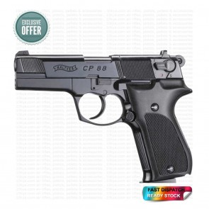 Walther CP 88 12G CO2 | Air Pistol | Black | 10kya.com Airgun India Store