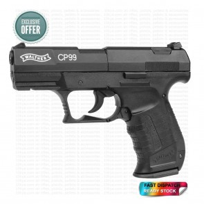 Walther CP99 0.177 | 12G CO2 | Air Pistol | Black | 10kya.com Airgun India Store