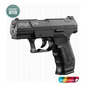 Walther CP99 0.177 4.5 Cal | 12G CO2 | Pellet Air Pistol | Black [ HSN 93040000