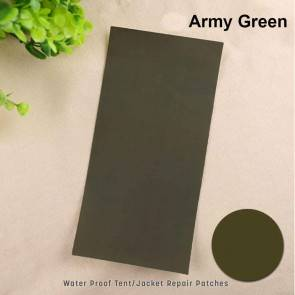 Camping Tent Repair Patch - Army Green | 5 Pcs | Self Adhesive | 10kya.com Camping Goods India