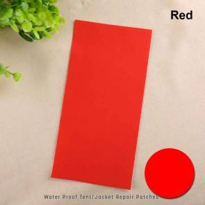 Camping Tent Repair Patch - Red | 5 Pcs | Self Adhesive | 10kya.com Camping Goods India