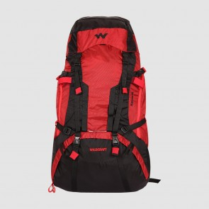 Large Rucksack 55L on Rent | Wildcraft Alpinist 55L Red Backpack | Rental-All-India