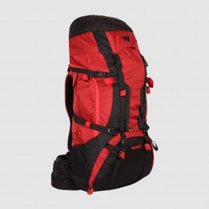 Rental Service for Outdoor Gear Rucksacks | Wildcraft Alpinist 55L Red Backpack | Rental-All-India