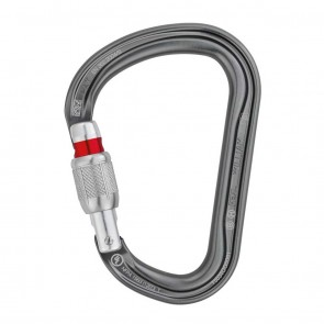 Petzl William-SL Screw-Lock Grey | M36A SL | Carabiner | 10kya.com Petzl Store India