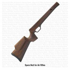 Wood Finish Butt for Precihole NX-100 SX-100 Air Rifles | 10kya.com Airgun India