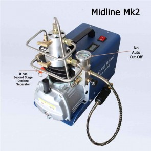 Yong Heng PCP Tank Filling Pump   MidLine Mk2   Hard Back Type Pneumatic High Pressure Pump   PCP Pumps