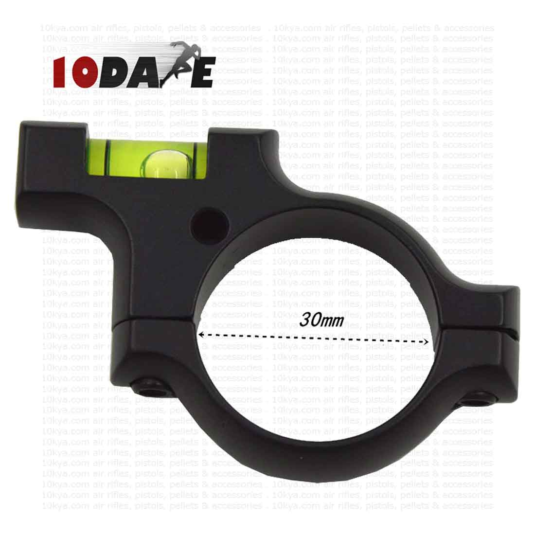 10Dare Bubble Spirit Level with Ring Mount For 30 mm Scopes   Aiming &  Shooting Aids   Spirit Levels for 100 Uses   Air Rifle Scopes & Sights [  HSN