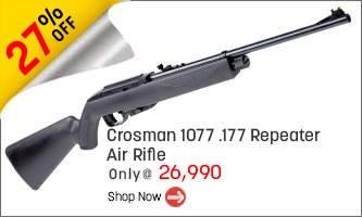 Crosman 1077 .177 Repeater | 12G CO2 Air Rifle