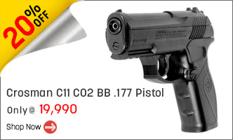 Crosman C11 CO2 BB Gun .177 Pistol