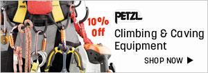 Petzl climbing & caving Gears