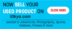 Now You Add Your Used Adventure, Photography, Art, Gardening, Music & Many More Products for Sell on 10kya online shop